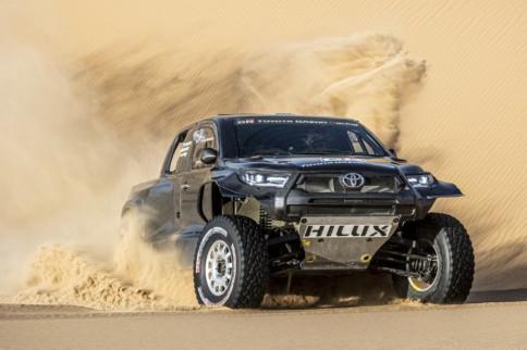 Toyota GAZOO Racing Preps DKR Hilux T1+ for 2022 Dakar Rally